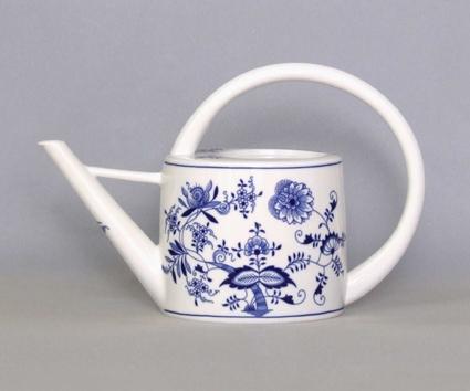 Cibulák kanvica záhradná 1,70 l cibulový porcelán, originálny cibulák Dubí 1. akosť