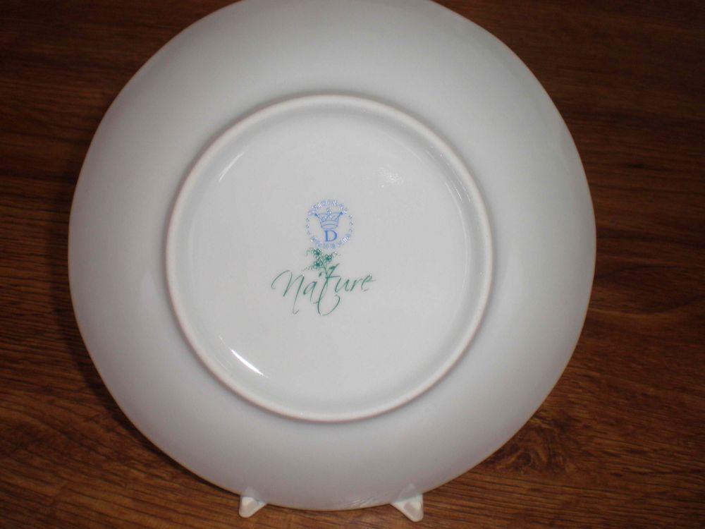 Cibuláková misa polievková, oválna s vekom a výrezom - NATURE farebný cibulák cibulový porcelán, originálny cibulák Dubí 1. akosť