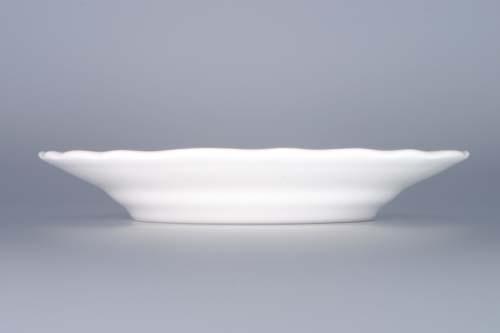 Tanier porcelánový biely dezertný 17cm Český porcelán Dubí a.s. 1.akosť