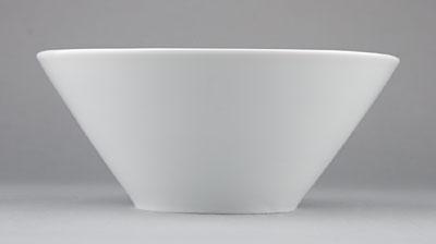 Misa porcelánová biela Hotelová šalátová 3,3l Český porcelán Bohemia 1.jakosť