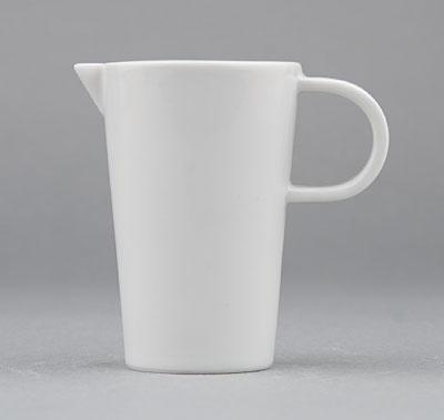 Kanvička na mlieko porcelánová biela Hotelová 0,075l Český porcelán Bohemia 1.akosť