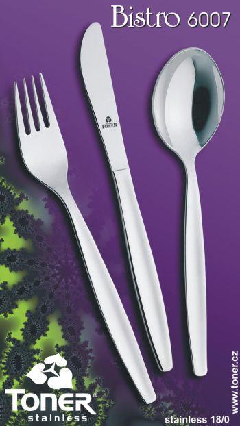 Nôž jedálenský Bistro 1 ks Toner nerez