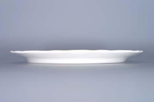 MIMORIADNA AKCIA -50% Cibulak tanier klubový 30 cm cibulový porcelán, originálny cibulák Dubí 1. akosť