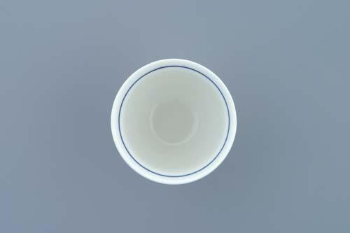 Cibulák kalíšok na nôžke 0,12 l cibulový porcelán, originálny cibulák Dubí 1. akosť