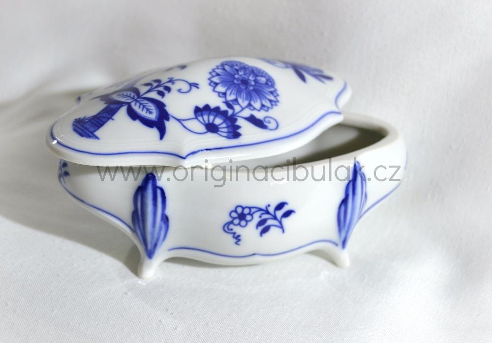 Cibulak dóza Hana 12,5cm cibulový porcelán, originálny cibulák Dubí, 1. akosť