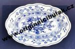 Cibulák misa oválna 20 cm cibulový porcelán, originálny cibulák Dubí 1. akosť