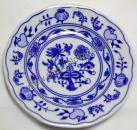 Cibulák tanier dezertný 13 cm cibulový porcelán, originálny cibulák Dubí 1. akosť