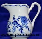 Cibulák kanvička na mlieko vysoká 0,25 l cibulový porcelán, originálny cibulák Dubí 2. akosť